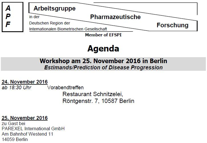 APF meeting 2016 in Berlin