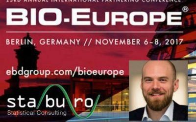 Staburo at BIO-Europe 2017 in Berlin
