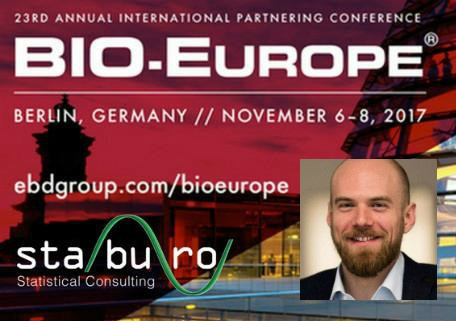 Staburo at BIO-Europe 2017 in Berlin