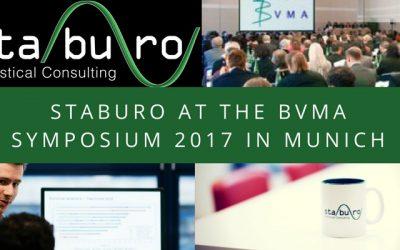 Staburo at the BVMA symposium 2017 in Munich