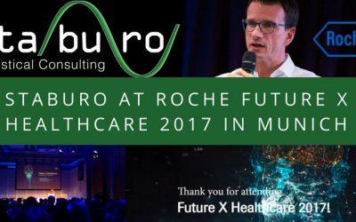 Staburo at Roche Future X Healthcare 2017 in Munich