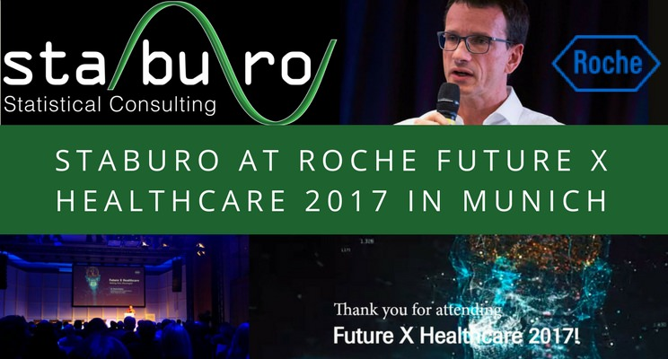 Staburo at Roche Future X Healthcare 2017 in Munich