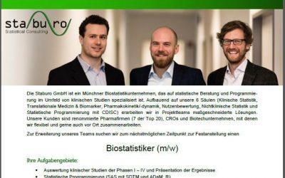 Biostatistiker (m/w)