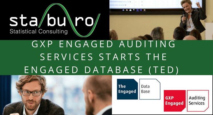 Staburo supports GXP Engaged Auditing Services in setup of The Engaged Database (TED)