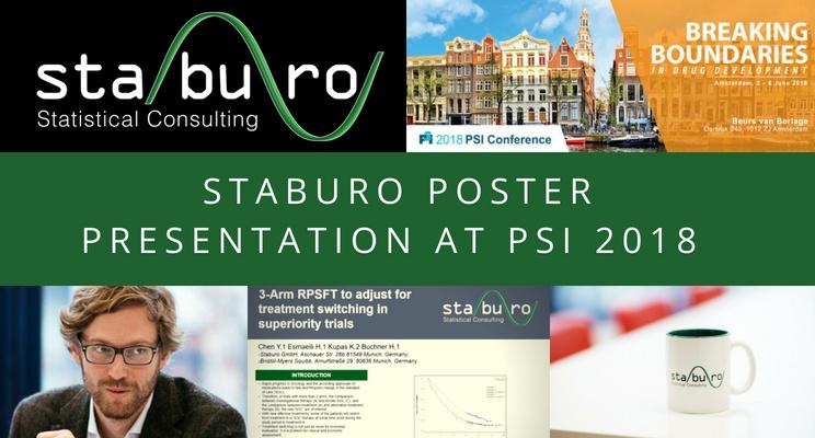Staburo poster presentation at PSI 2018