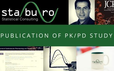 Contribution to scientific PK/PD publication by Staburo