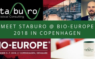 Meet us at the Staburo BIO-Europe 2018 booth in Copenhagen!