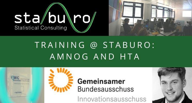 Training @ Staburo: AMNOG and HTA