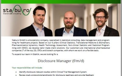 Staburo Disclosure Manager Gdansk