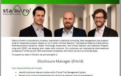 Disclosure Manager Munich