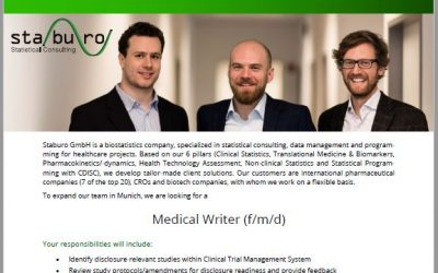 Staburo Medical Writer Munich