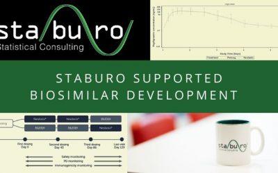 Staburo supported successful biosimilar development program