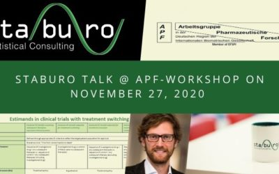 Staburo @ working group pharmaceutical research (APF) workshop