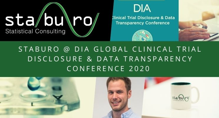 Staburo @ the DIA Global Clinical Trial Disclosure & Data Transparency Conference 2020