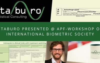 Staburo presented @ workshop from the working group Pharmaceutical Research (APF)