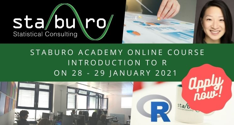 Staburo Academy online course Introduction to R