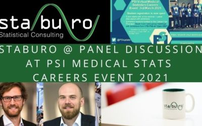 Staburo at PSI Medical Stats Careers Event 2021