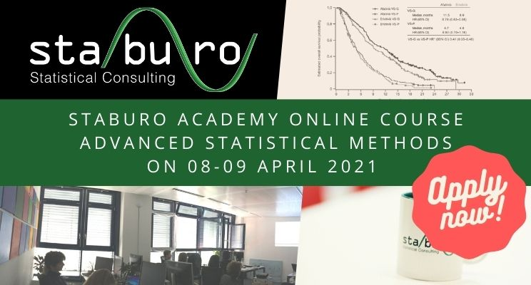 Advanced statistical methods online course