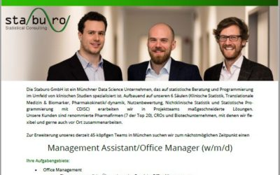 Management Assistant/Office Manager (w/m/d)